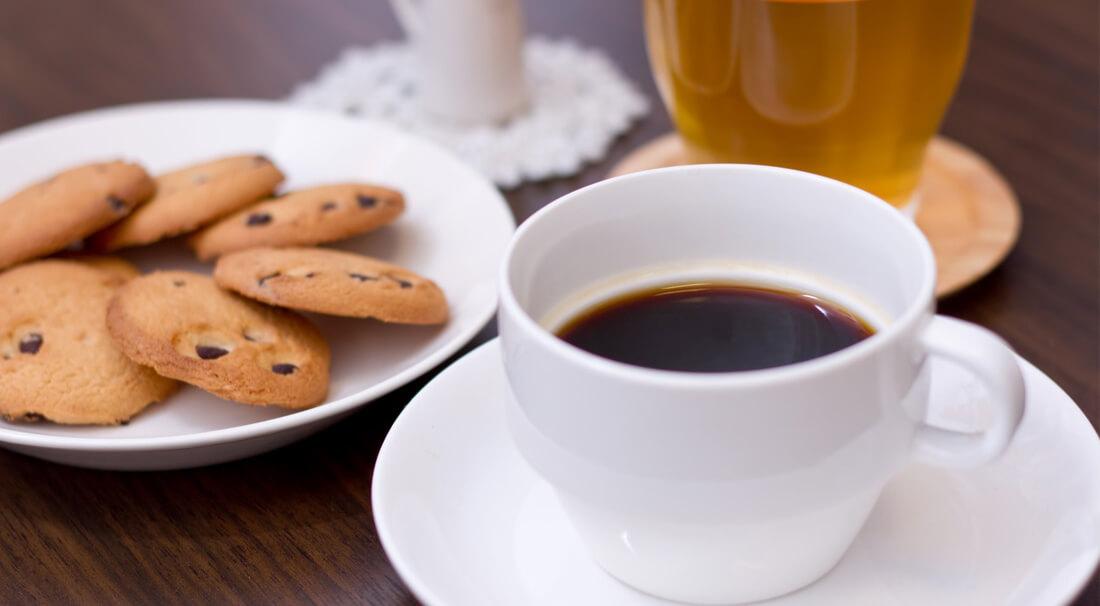ホワイトニング後のコーヒー紅茶