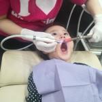 3歳の歯科衛生士職業体験♪