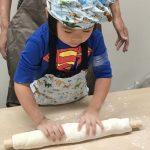 子どもの讃岐うどん作り教室