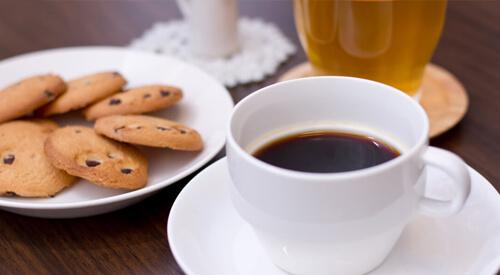 ホワイトニング後のコーヒー